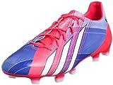 adidas Fußballschuh Adizero F50 TRX FG Messi, Rot / Blau, 42 2/3