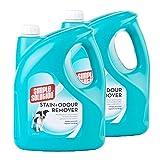 Símple Solution Einfache Lösung 2X 4l Geruchs- und Fleckenentferner Entnahme für Hunde