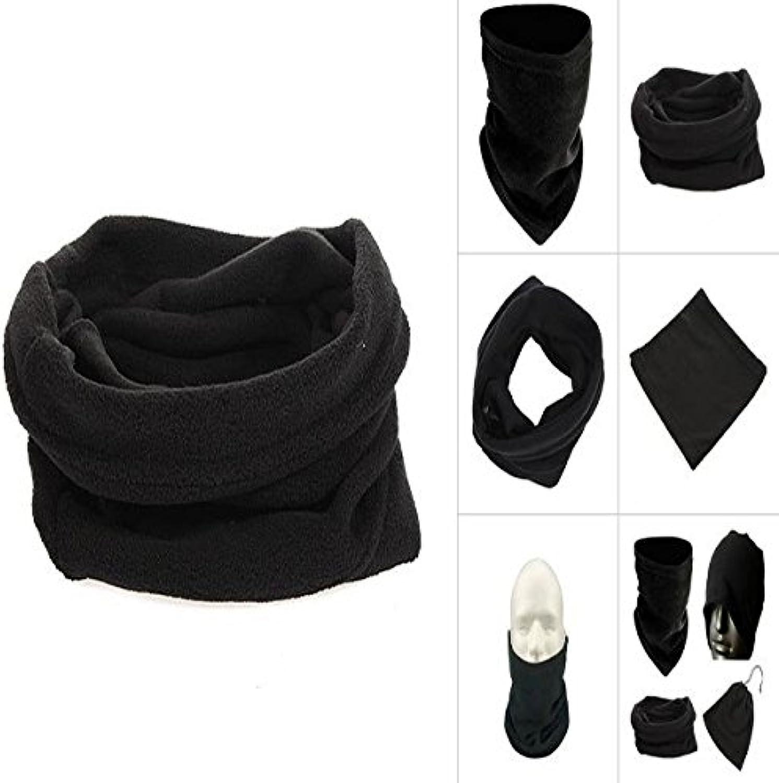 PhilMat Deporte vellón mascarilla casquillo de la bufanda de cuello redecilla  -