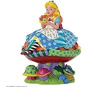 """Disney von Romero Britto Figur """"Alice in Wonderland"""""""