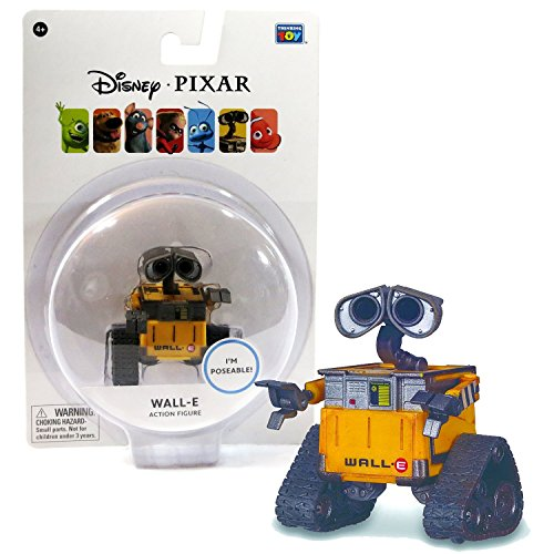 Disney Pixar WALL-E 3 Inch Poseable Wall-E Figure by MDstore