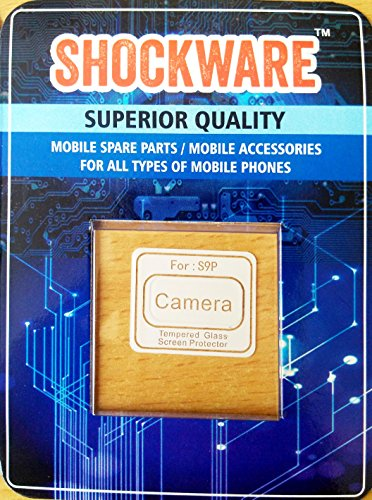 SHOCKWARE Rear Camera Tempered Glass Lens Protector Soft Protective Film Compatible with Samsung Galaxy S9 Plus