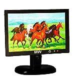 TV / Fernseher mit 3-D Pferdemotiv - für Puppenstube Miniatur - Maßstab 1:12 - Flachbildschirm - Geldgeschenk - Puppenhaus / Puppenhausmöbel - Wohnzimmer Möbel - LCD Flat Flachbild - Flattv Fernsehen Monitor - Diorama