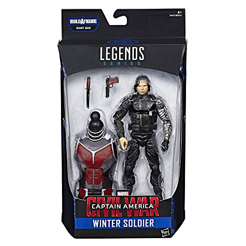 Captain America Civil War Marvel Legends: Winter Soldier 15 cm Action Figure