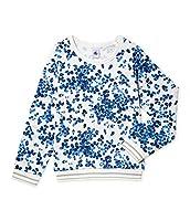 Petit Bateau Girl's Frim Sweatshirt, Multicoloured (Lait/Multico), 12 Years (Manufacturer Size:12A 12 ANS)