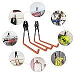 Ganci-per-Garage-di-10-Pezzi-per-Organizzazione-di-Carichi-Pesanti-Sedie-Pieghevoli-Scale-Biciclette-Utensili-Elettrici