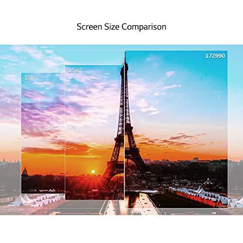 LG Gram 17Z990 2019 17.0-inch Laptop (Core i7-8565U/8GB/512GB SSD/Windows 10 64-bit/Intel UHD 620 Graphics), Dark Silver Image 3