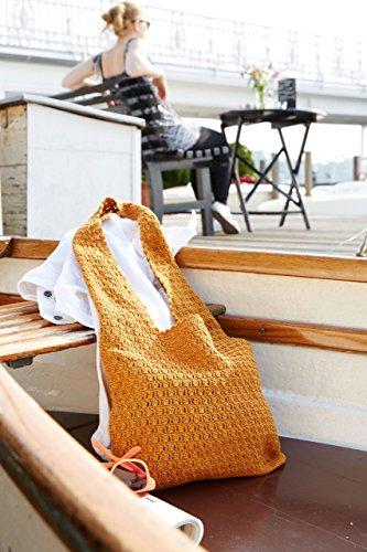 Sommersachen selber häkeln! Sommertasche selbst häkeln - Häkel Set mit Baumwolle und kostenlose Häkelanleitung in einer Häkelpackung zum selberhäkeln von MyOma