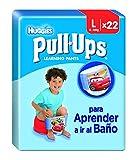 Huggies Pull-Ups Garçon Taille 6/Large (16-23 kg), Couche-Culotte d'Apprentissage de la Propreté Disney Cars x44 (lot de 2 paquets de 22 culottes)