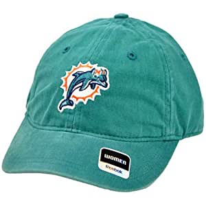 NFL lavage Miami DAUPHIN Turquoise Relaxed-Reebok One Size Fits All Casquette
