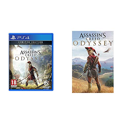 Assassin's Creed Odyssey - Limited [Esclusiva Amazon] + Guida Strategica - PlayStation 4