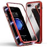 Coque pour iPhone 8 Plus/7 Plus, Coque d'adsorption magnétique ZHIKE Cadre...