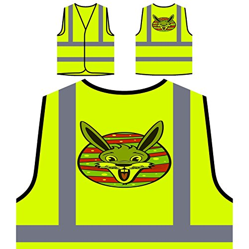 e Personalisierte High Visibility Gelbe Sicherheitsjacke Weste u601v ()