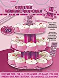 Unique Party Supplies Anpassbare Glitz 3 Etagen Cupcake-Ständer
