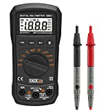 Tacklife DM03 Classic Digital Multimeter Auto Range Practical Multi Tester with Max Value Hold for AC/DC Voltage, Current, Resistance, Continuity, Diode, Frequency Measurement