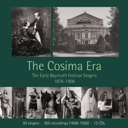 Wagner: The Cosima Era - The Early Bayreuth Festival Singers 1876-1906 Pan-box