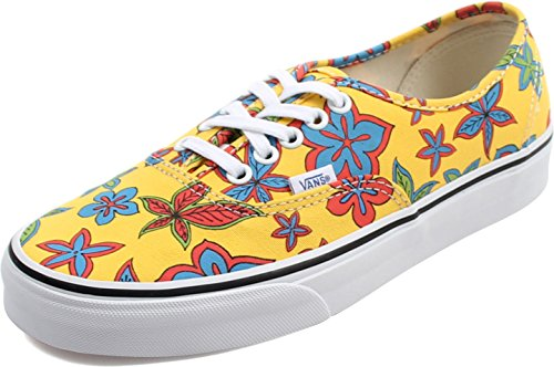 Vans Womens Authentic Cuban Canvas Trainers (Freshness) Floral/Yellow