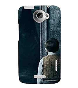 Cartoon, Black, Cartoon and Animation, Printed Designer Back Case Cover for HTC One X :: HTC One X+ :: HTC One X Plus :: HTC One XT