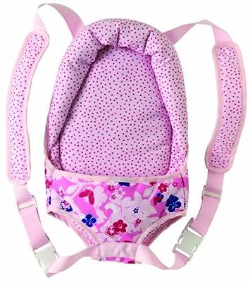 Corolle X0502 - Mochila portabebés para muñecas de 36 a 42 cm, color rosa por COROLLE