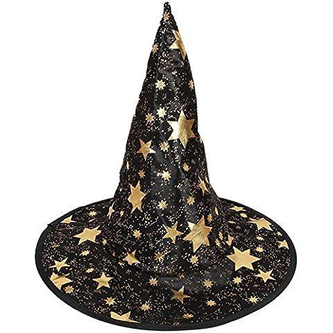 Halloween Cappello Strega Clode® Monostrato Cappello Strega per Adulti Delle