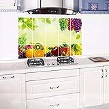 Amlaiworld Pegatinas de pared extraíbles a prueba de aceite de cocina Decoración del hogar de arte Calcomanía