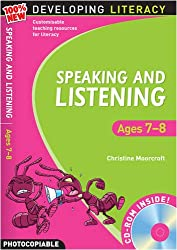 Speaking and Listening: Ages 7-8 (100% New Developing Literacy)