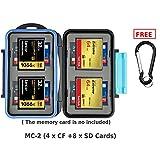 Best JJC CF Cards - JJC MC-2 Waterproof Antishock Memory Card Case or Review