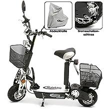 Rolektro eco-Fun 20 SE Special Edition Faltbarer E-Scooter Elektroroller E-Roller bis 20 Km/H keine Helmpflicht mit Strassenzulassung Reichweite ca. 30 KM Motor 500W E-Roller Elektro-Roller