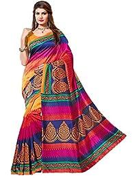 Muta Fashion Bhagalpuri Silk Traditional Women Saree
