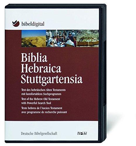Biblia Hebraica Stuttgartensia: Text des hebräischen Alten Testaments mit komfortablem Suchprogramm (BIBELDIGITAL)