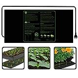 KOBWA Heizmatte CE(LVD&EMC) Listed Seedling Heizkissen 122X50,8cm 100Watt für Pflanzen Homebrewing Pet Gehäuse Terrarien