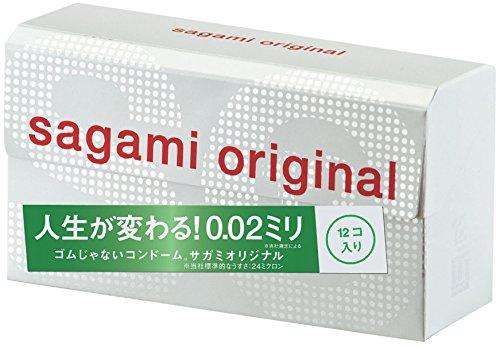 Sagami Original 002 Condom 12pcs (Japan Import) [Health and Beauty] (japan import)