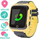 REJUVENATE Kids Smartwatch Phone for Girls and Boys with GPS Locator, Pedometer, Fitness
