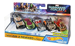 Hot Wheels DXM19 Guardians of the Galaxy 5-Car Pack