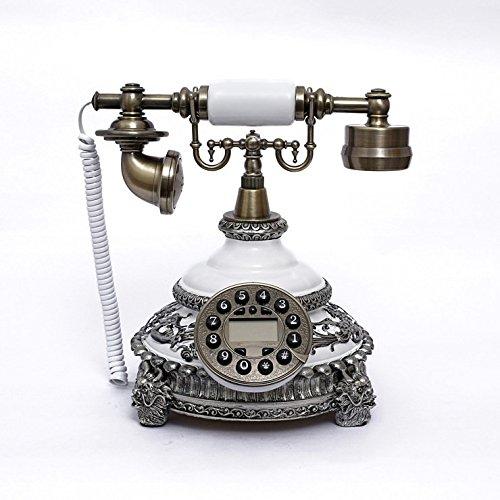 Moda retrò europeo creativo nuovo telefono fisso di casa High-end telefono ID chiamante antico antiquariato (High End Telefoni Cordless)