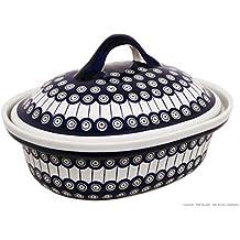 Bunzlauer Keramik–Asador de Cerámica V = 2,2L, decorada 8
