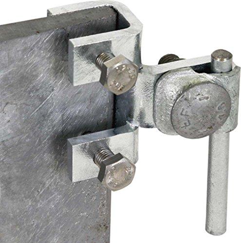 Dehn 372110–Dreistockklemme Verbindung Vertical 5–18mm St/tZn