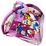 #7: LooMantha® Baby / Kids / Infants Fun Play Gym With Mosquito Net & Pillow (0-12 Months)