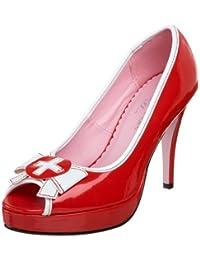 Leg Avenue - Chaussures Talons Natalie - Rouge - 40 - LA420-NATALIE