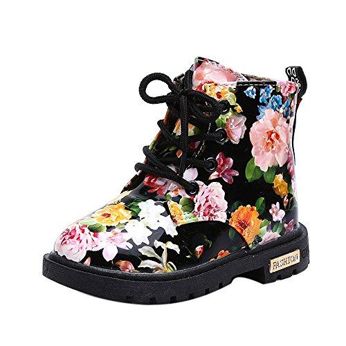 Stiefel Kinder Heligen Mädchen Mode Floral Kinder Schuhe Baby Stiefel Casual Kinder Stiefel Baby Mädchen Jungen Lauflernschuhe Sneaker Casual Stiefel
