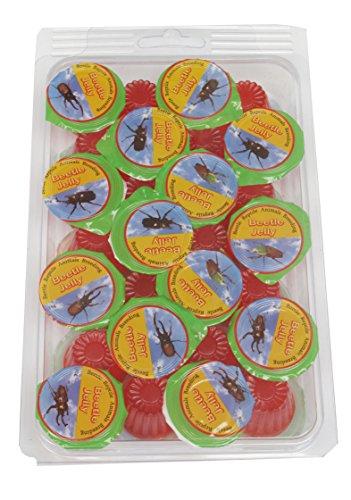 Namiba Terra 70213 Vorteilspack, 28 Stück Jungle Shop Beetle Frucht Jelly Erdbeere, für In Preisvergleich