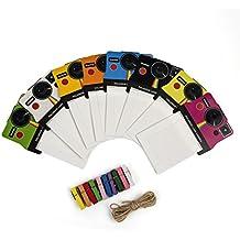 Polaroid - Marcos de colores estilo vintage para papel zink 2x3 (snap, zip, z2300)