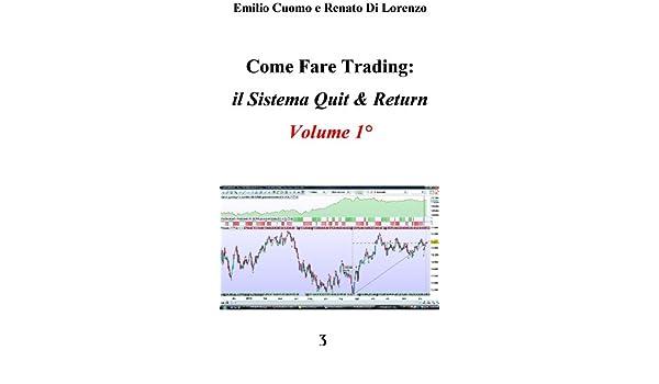 Il Sistema Quit & Return - Volume 1° (Come fare trading Vol. 7) (Italian Edition)