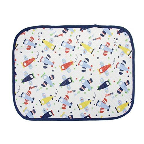 Cambiadores, bebé cambiador almohadillas para pañales impermeable reutilizable cambiador Nursery Esencial Toddler Bebé plegable Viajes cambiador pañal orina Pad/bolsa de pañales Cambiar alfombrillas almohadilla limpiar