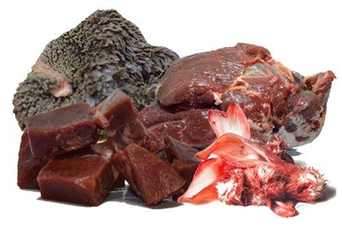 """Barfbox """"Alles gewürfelt"""" 12kg - Barf für Hunde / Hundefutter / Katzenfutter / Frostfutter / Frostfleisch / Barf Paket / Barffleisch / Frisches Futter / Frischfutter / stückiges Fleisch / Prey / Frankenprey / Würfelfleisch"""