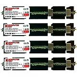 Komputerbay 16Go (4x 4Go) DDR2 PC2-6400F 800MHz ECC Fully Buffered FB-DIMM (240 PIN) 16Go avec MAC chaleur épandeurs Mémoire RAM APPLE MAC PRO 2008 3,1 (2,8 3,0 3,2) (DDR2 800 MHz PC2-6400 ECC FBDIMM )