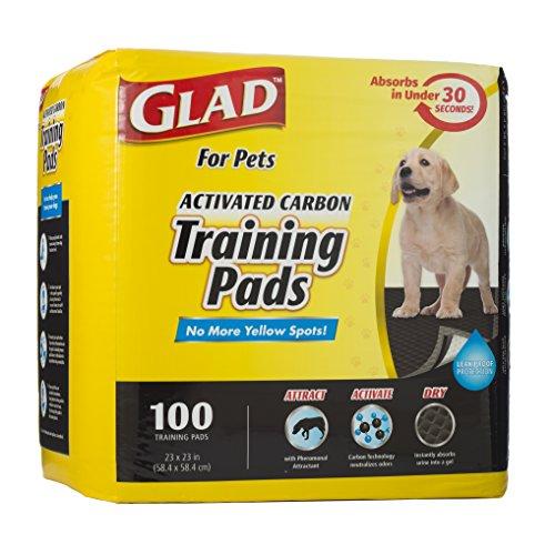 Preisvergleich Produktbild Glad Activated Carbon Training Pads 100 / Pkg