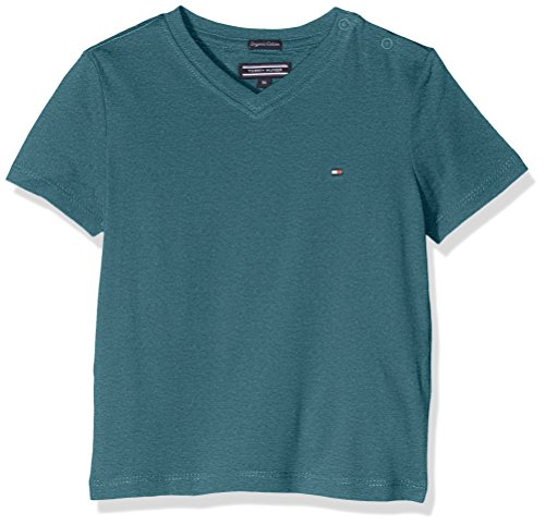 tommy-hilfiger-ame-basic-vn-tee-s-s-t-shirt-garcon-vert-blue-spruce-heather-110-taille-fabricant-5