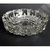King International Glass Ashtray (13.5 x 13.5 x 3 cm)