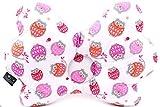JoGo Designs® Babykissen | patentiertes Babykopfkissen gegen Verformung des Kopfes | für eine gesunde Kopfform | viskoelastischer Schaumkern | mit Kinderärztin entwickeltes Kissen gegen Plattkopf